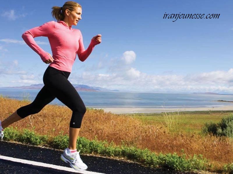 ورزش باعث ایجاد شادابی صورت